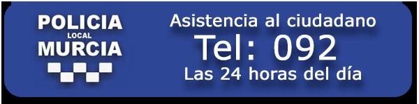 092 Teléfono Policia Local de Murcia