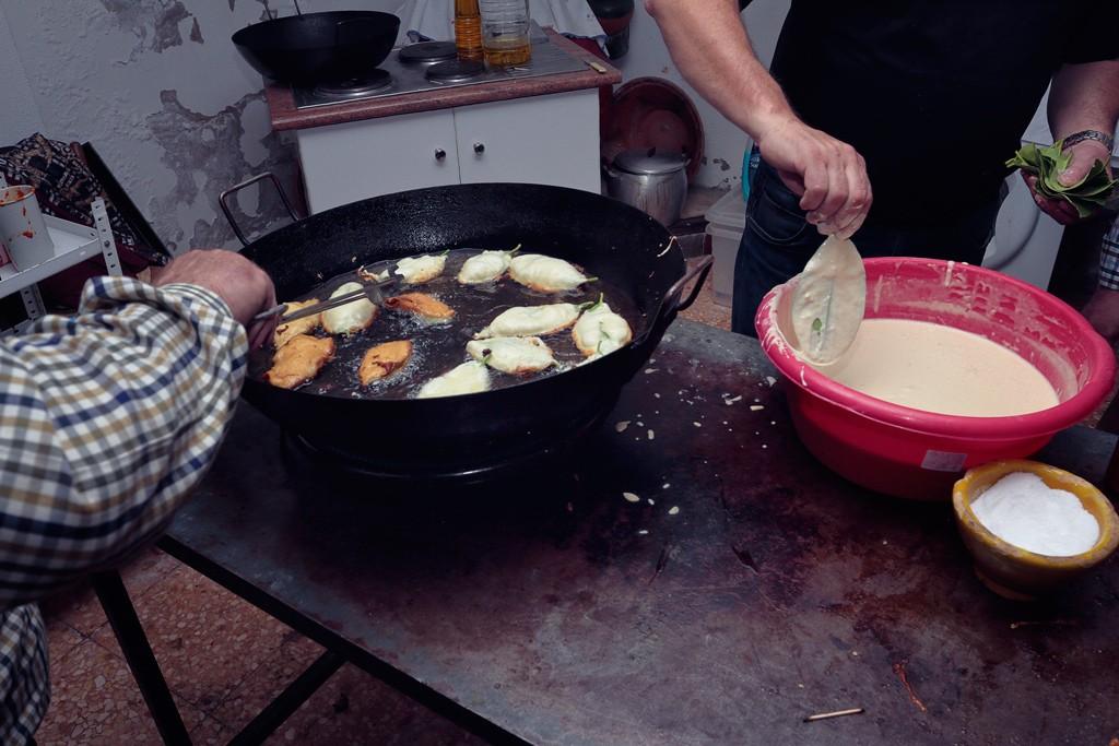 """Paparajotes en la Peña Huertana """"El Almirez"""""""