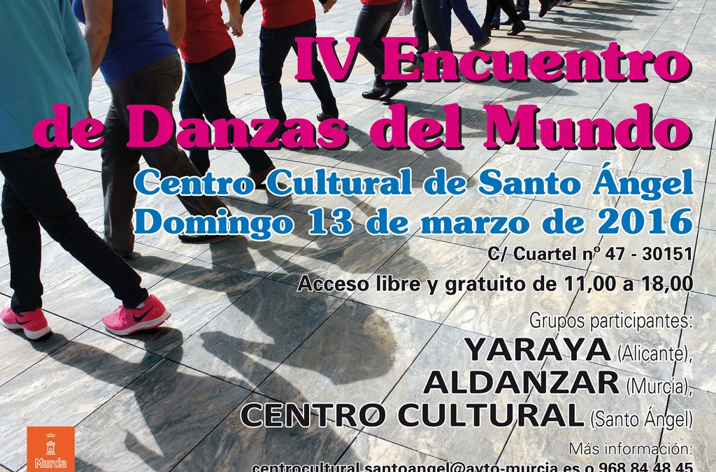 Danzas del mundo cartel 2016 Santo Ángel