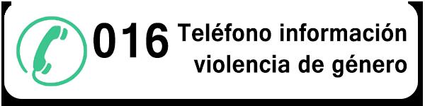 Numero de teléfono para victimas de malos tratos 016