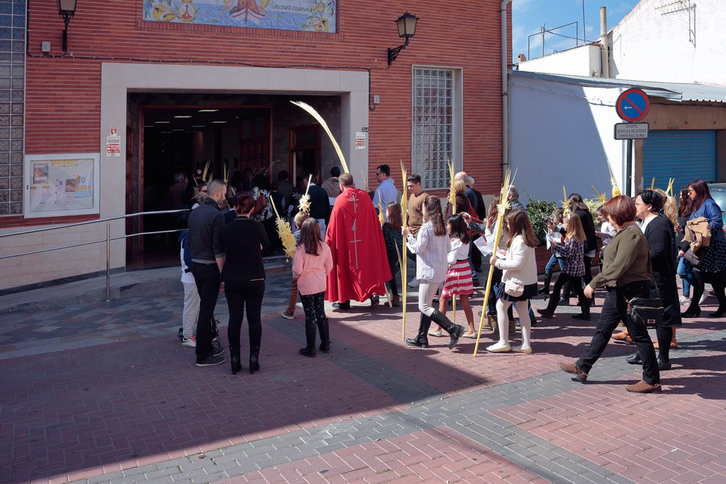 Domingo de Ramos en Santo Ángel