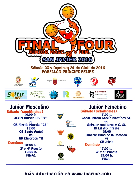 Cartel Final Four San Javier 2016