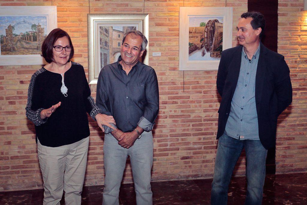 """Inauguración de la exposición """"Forma y Estilos"""" de Antonio Araez y Rogelio Balibrea"""