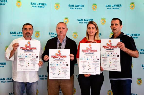 Presentación Cartel Final Four San Javier 2016