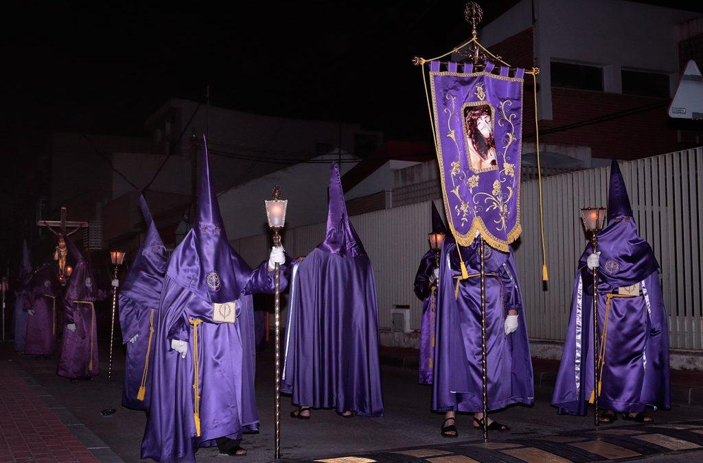 Viernes Santo desfila la Cofradía del Santísimo de Cristo de la Agonia de Santo Ángel
