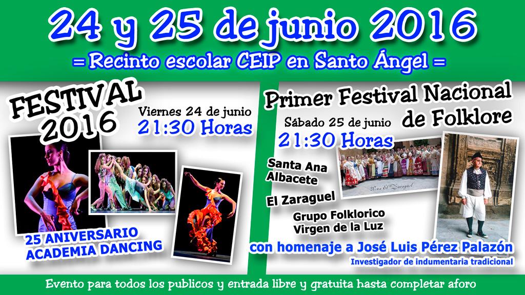 Festival de Baile y Folklore dia 24 y 25 de junio