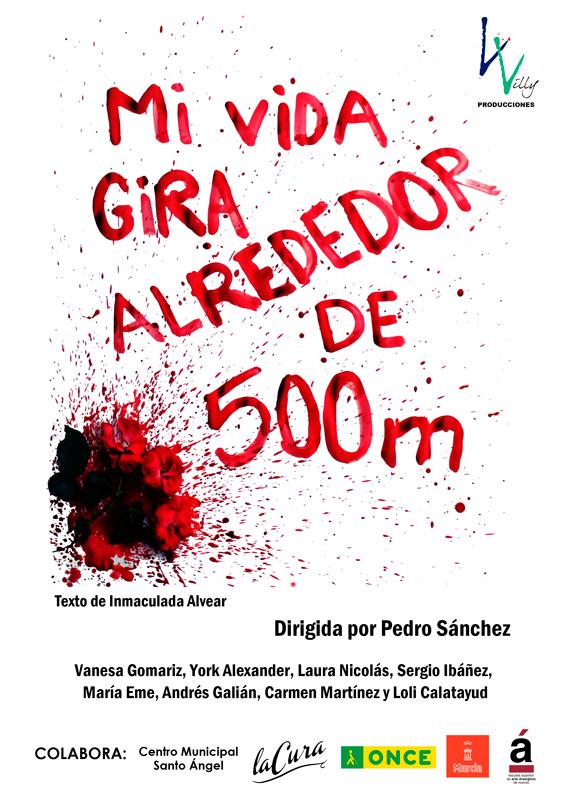 cartel obra de teatro Santo Angel