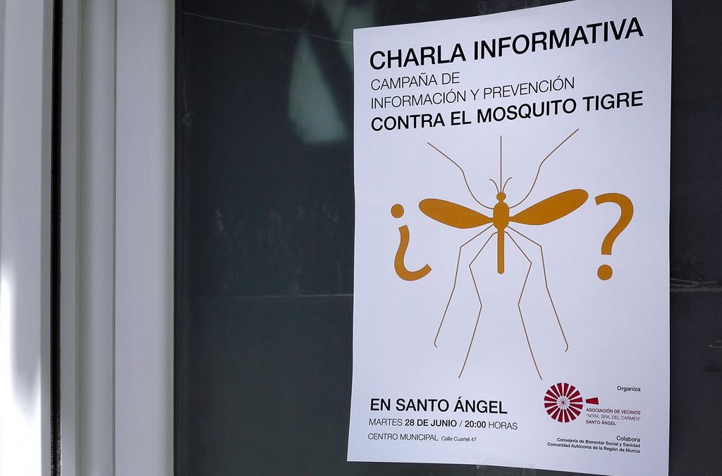 Cartel Mosquito Tigre