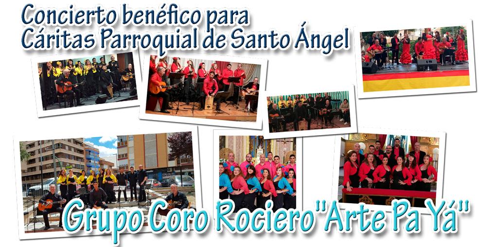 """Concierto benéfico del Grupo Coro Rociero """"Arte Pa Yá"""""""