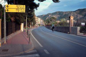calle principal Santo Ángel