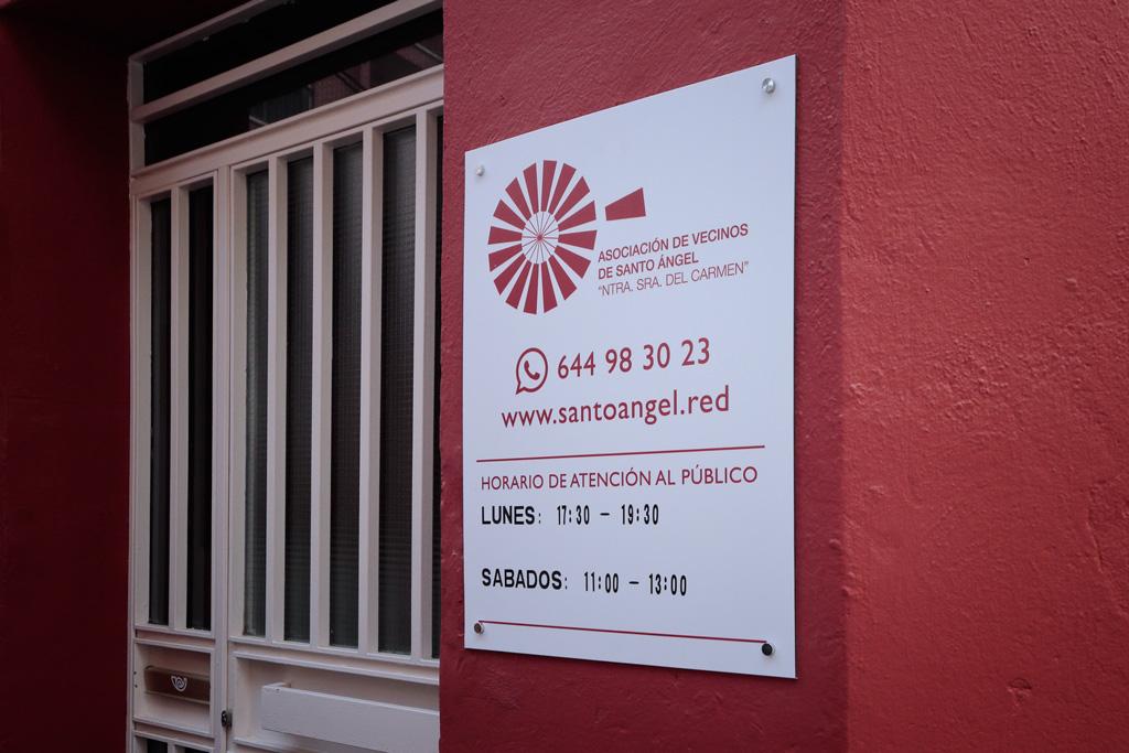 Sede oficial de la Asociación de Vecinos de Santo Ángel
