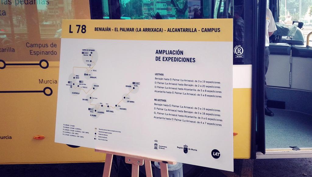Comienzan las nuevas rutas y horarios de las líneas de autobús 78 y 30