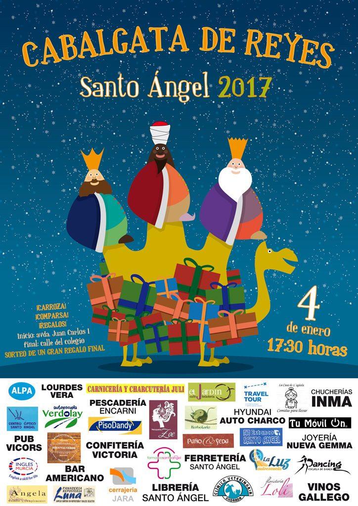 Cabalgata de Reyes en Santo Ángel