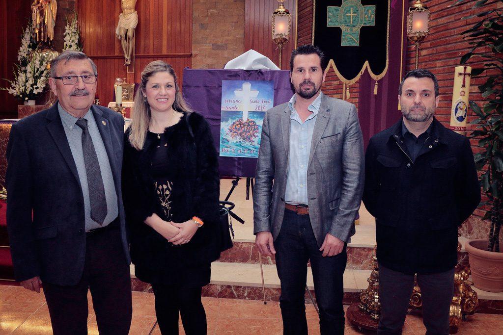 Grupo Ciudadanos: Joaquín Ballester Fernández y los concejales Francisca Pérez López (Paqui) y Mario Gómez Figal