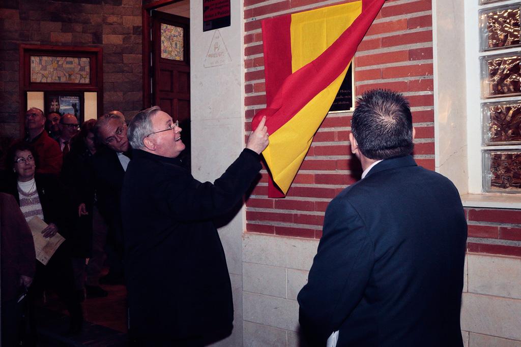 Inauguración nuevo campanario de la Iglesia de Santo Ángel