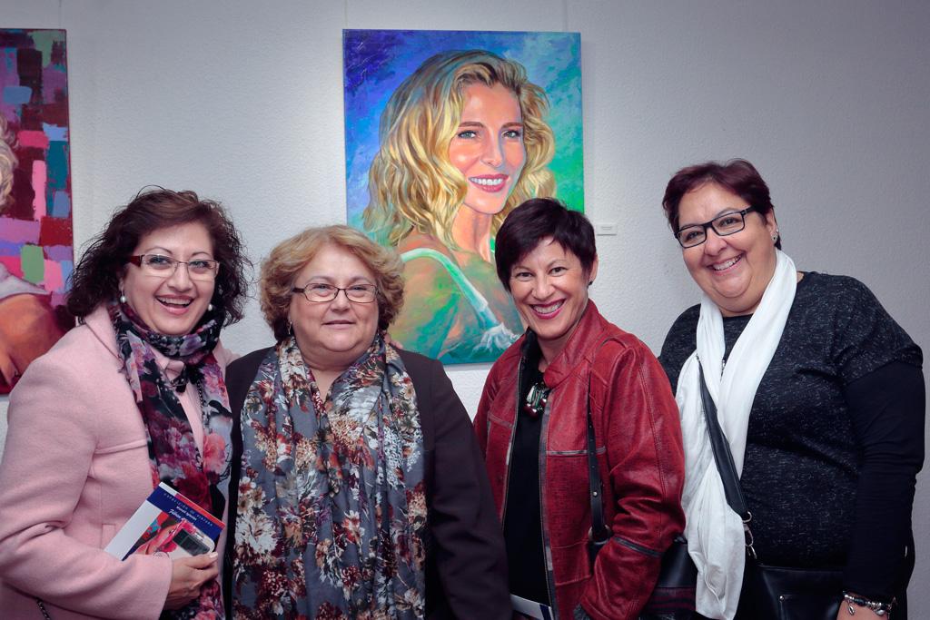 Exposición Centro de la Mujer Aguilas Murcia