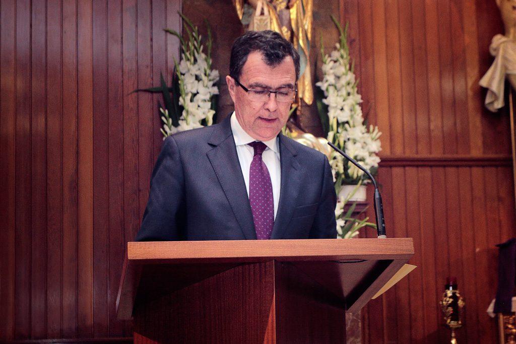Pregonero D. José Francisco Ballesta German, Alcalde de Murcia