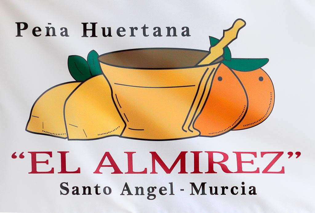 "Logo peña huertano ""el Almirez"""