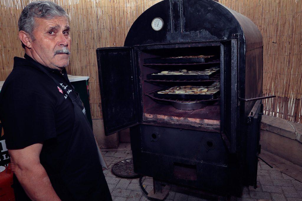 El horno de la baraca de la Peña el Almirez