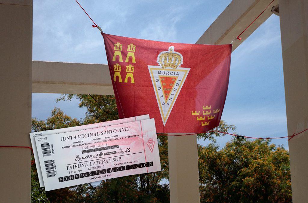 Entradas para el partido del Real Murcia fútbol club