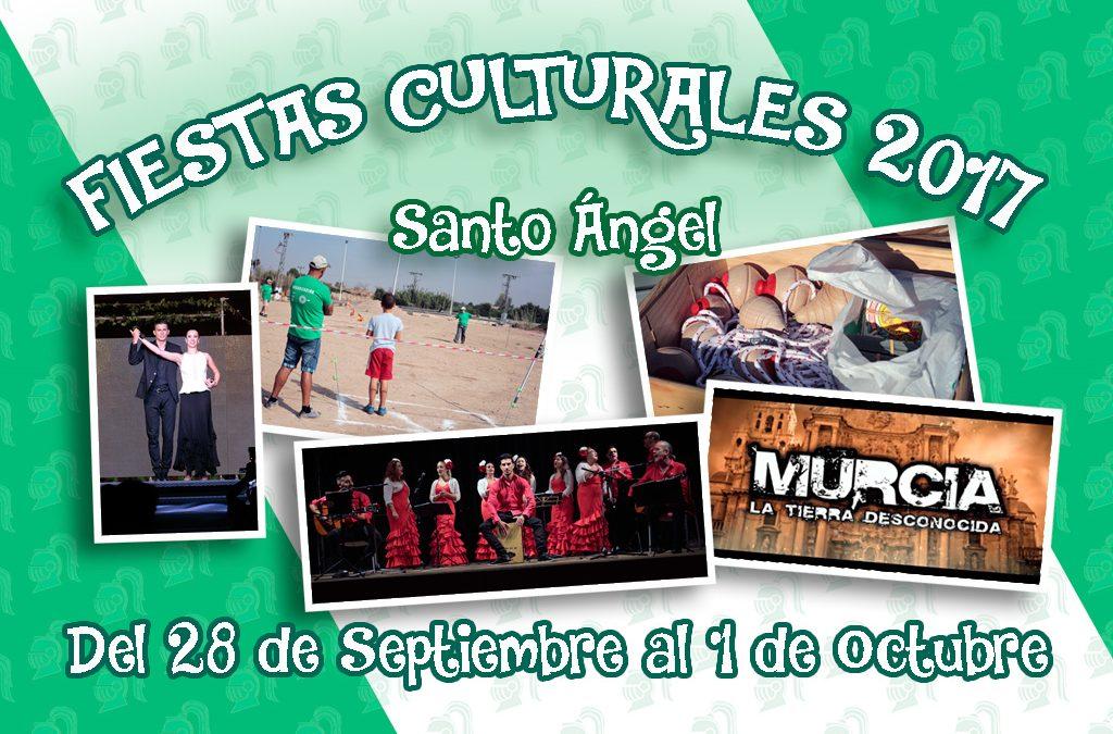 Fiestas Culturales Santo Ángel 2017