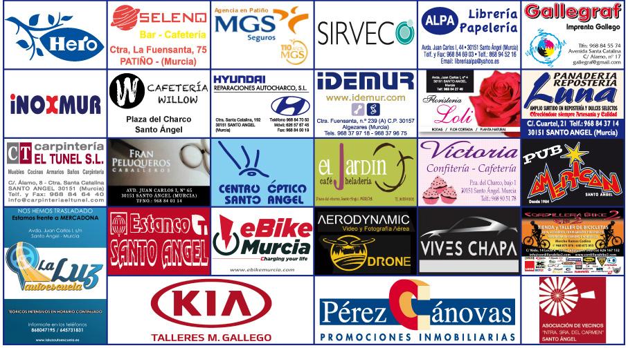 patrocinadores Santo Ángel carrera MTB