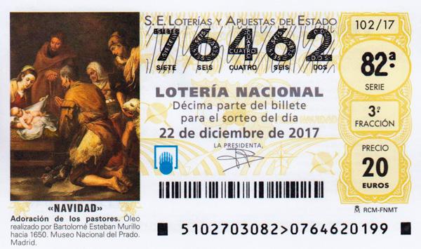 Lotería de navidad de Santo Ángel