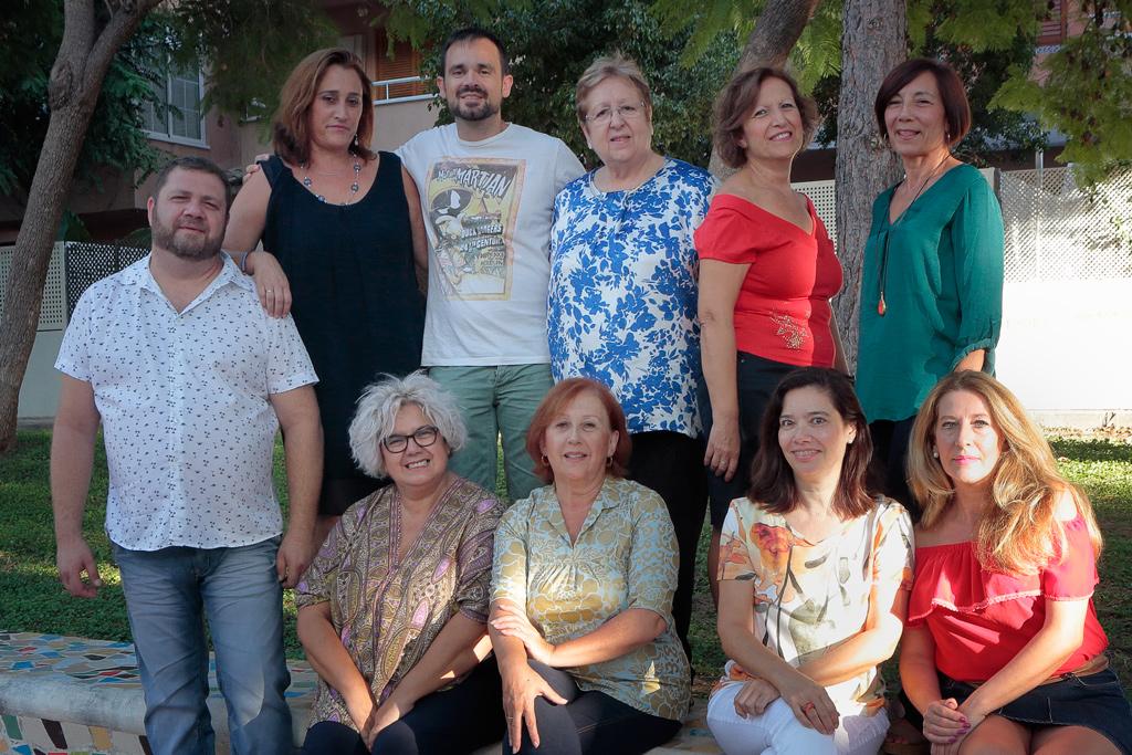 Grupo de Teatro en Santo Ángel en el 2017
