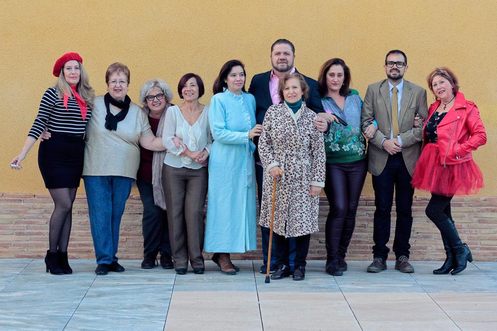 El grupo de Teatro Lamediasala | Fotografía Jerome van Passel