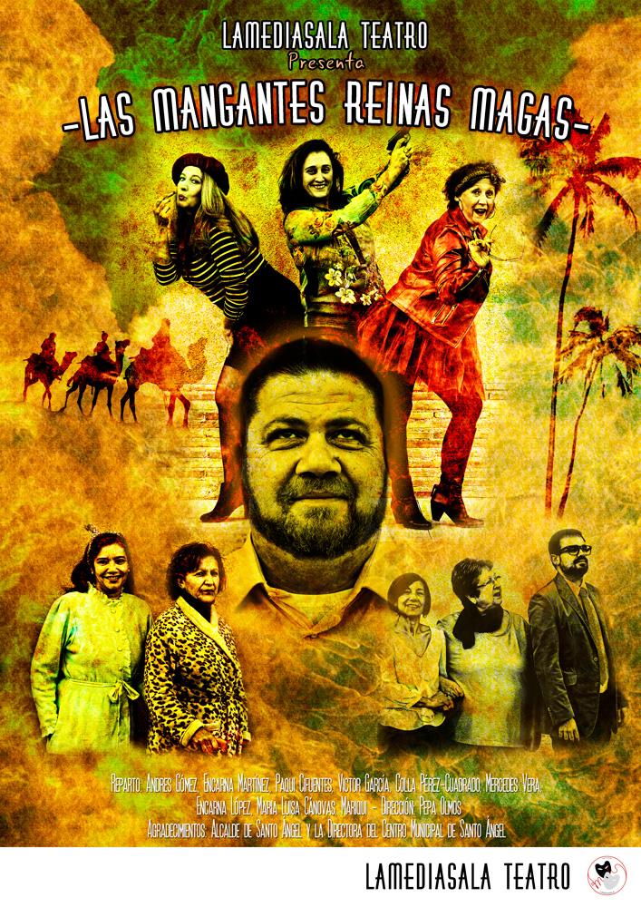 cartel obra Lamediosala Teatro