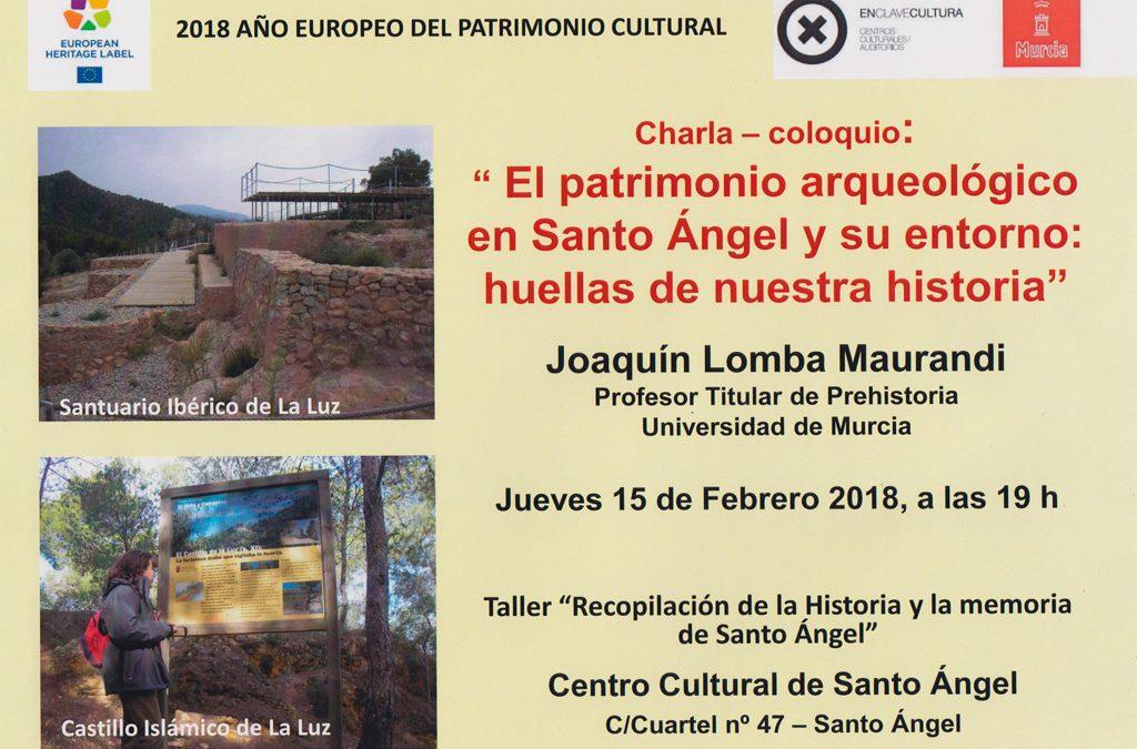 Charla Joaquin Lomba Maurandi