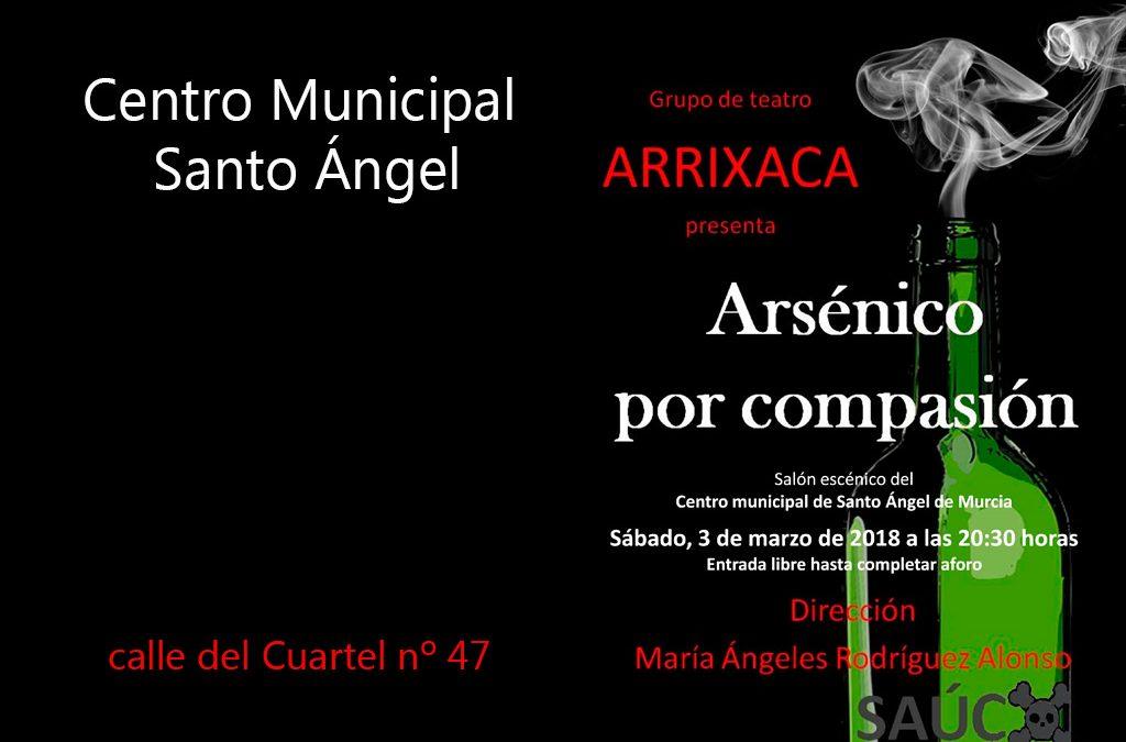 """Obra de teatro """"Arsénico por compasión"""""""