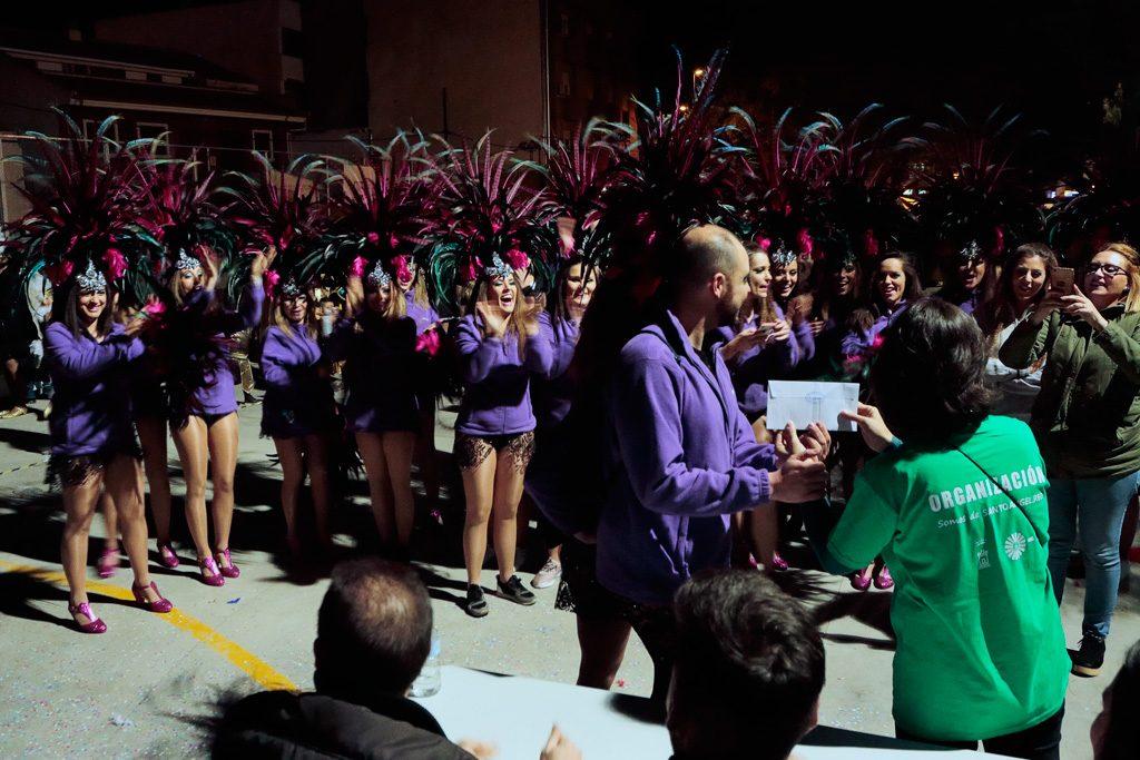 Carnaval Comparsa ganador 2018