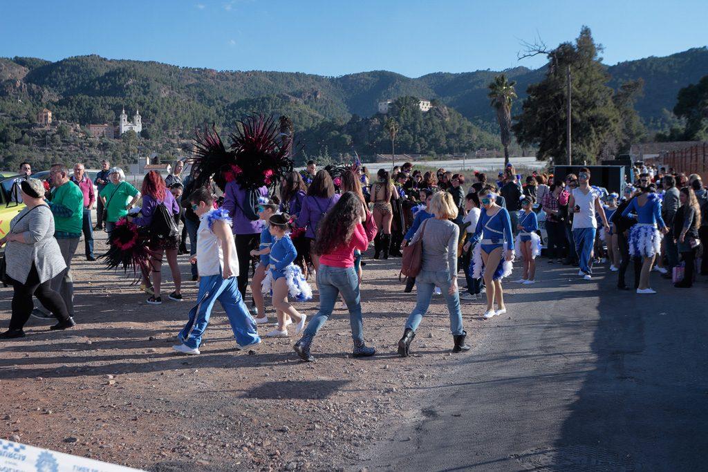 Carnaval preparación desfile
