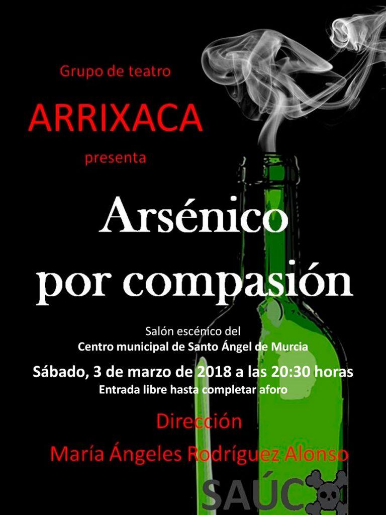 Cartel Arsénico Centro Municipal Santo Ángel