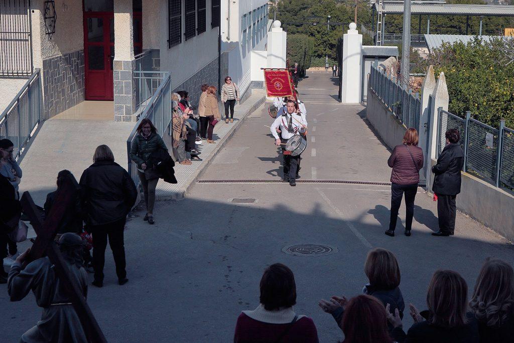 Llegada Escuela Tambor