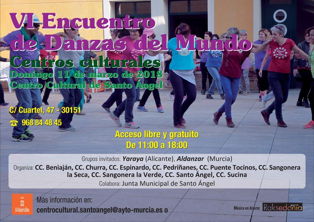 Cartel Danzas del mundo 2018