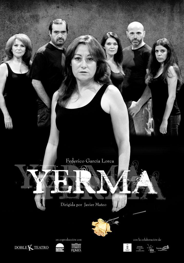 Cartel teatro Yerma