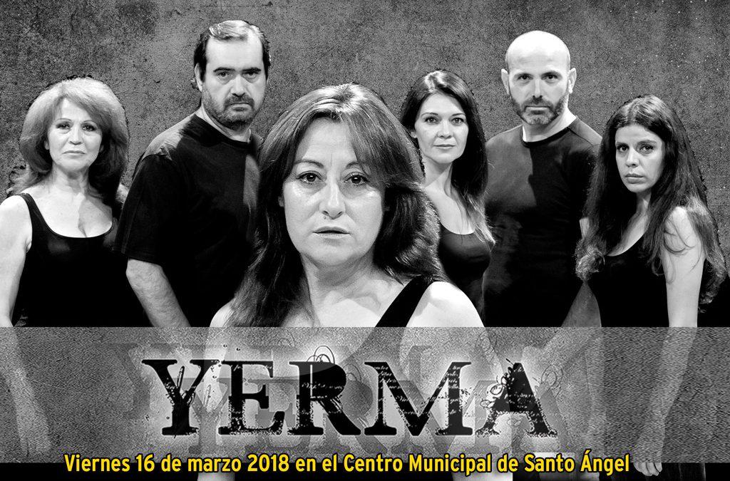 """Obra de teatro """"Yerma"""" de Federico García Lorca"""