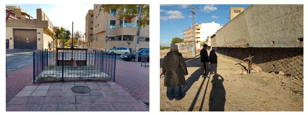 fotografías 3 y 4 acequia de Beniaján