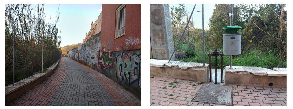 fotografías 12 y 13 acequia de Beniaján