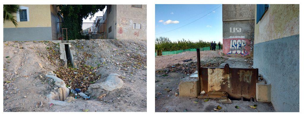 fotografías 7 y 8 acequia de Beniaján