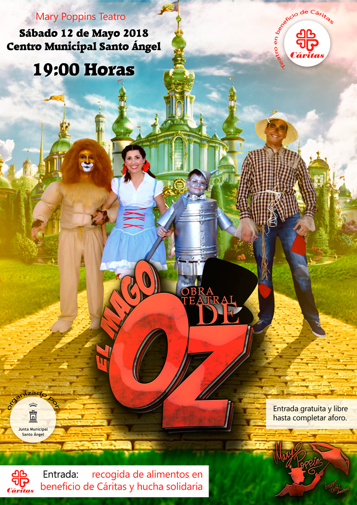 Cartel Mago de Oz 2018