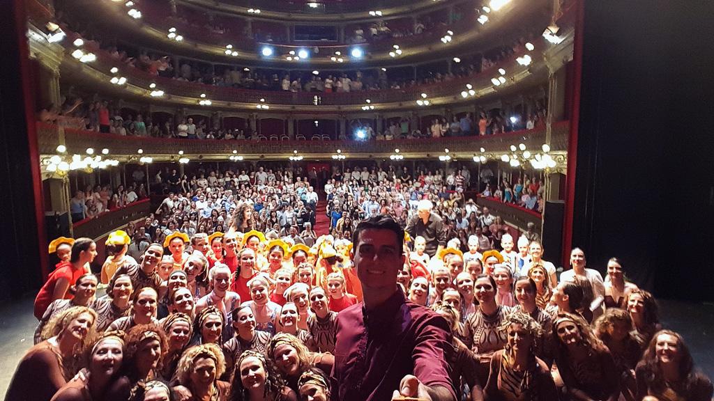 Escuela Dacing en el teatro Romea en Murcia