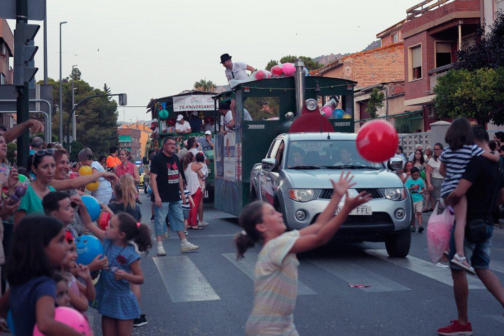 Gran desfile de Carrozas