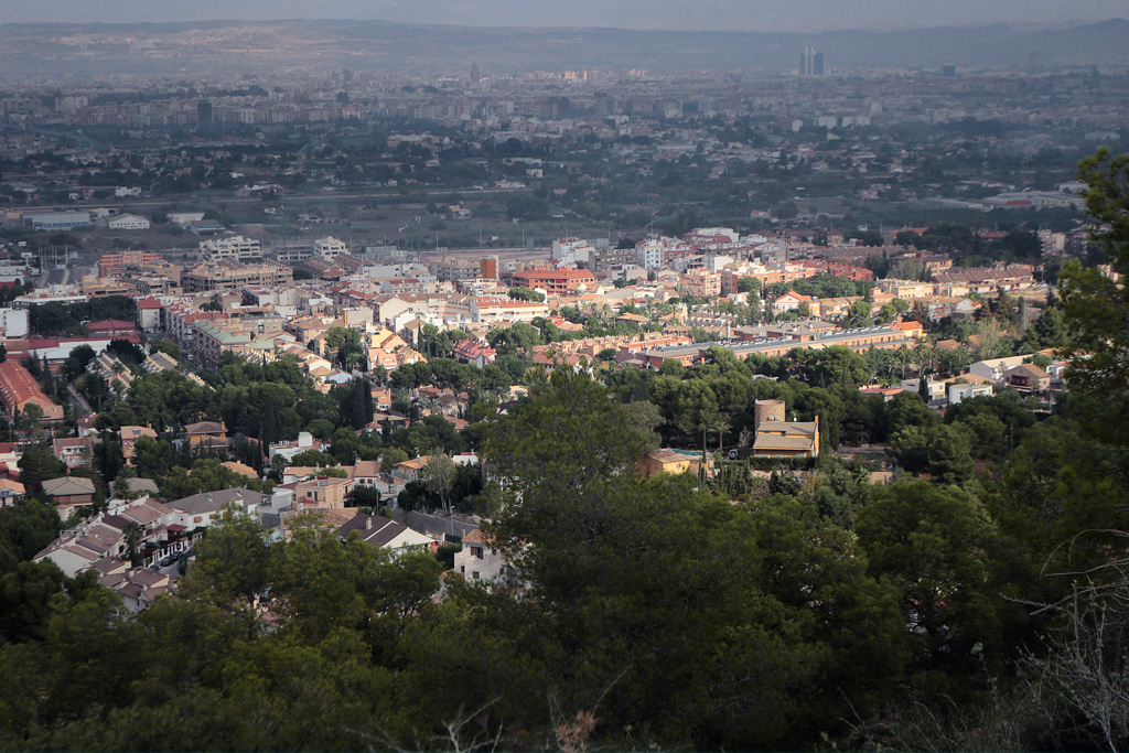 Fotografías del pueblo de Santo Ángel (Murcia)