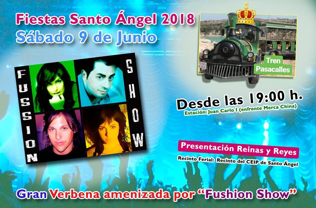 Presentación de Reinas y Reyes de las Fiestas de Santo Ángel 2018