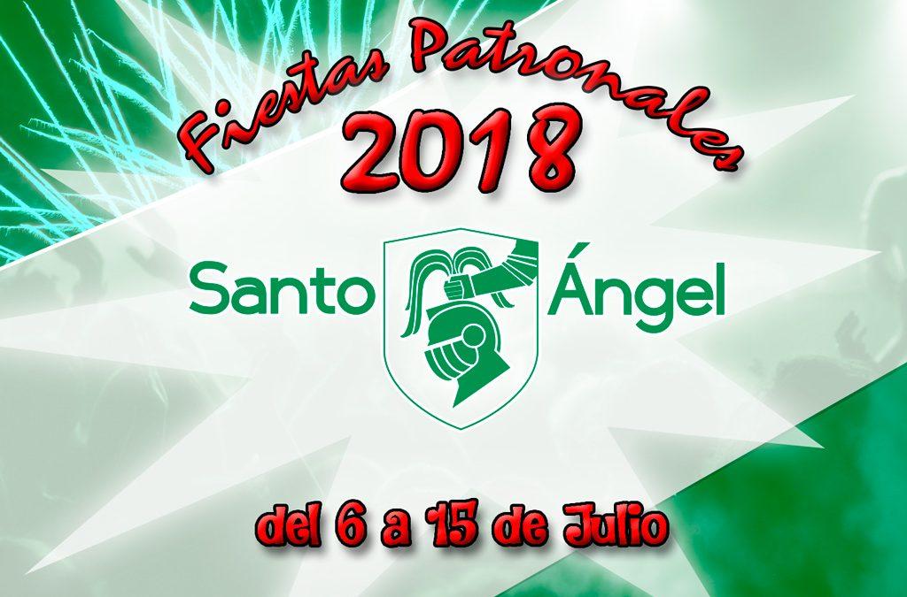 Programa de las Fiestas Patronales 2018
