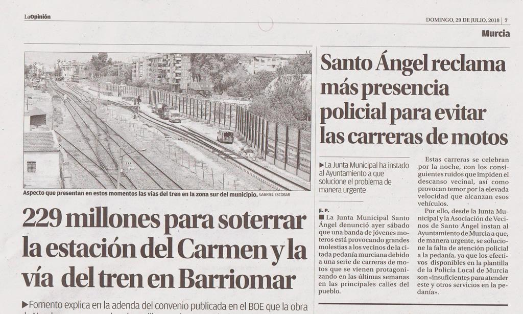 La Opinión de Murcia Santo Ángel