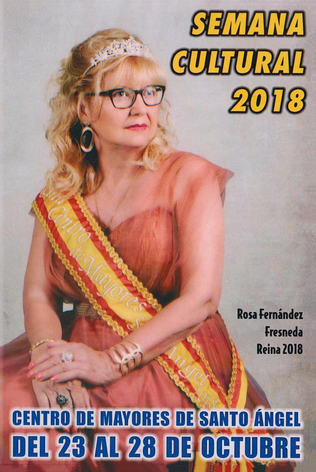Cartel 2018 Centro de Mayores de santo Ángel